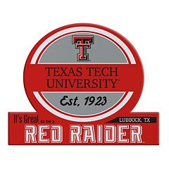 Texas Tech Red Raiders Jumbo Tailgate Magnet