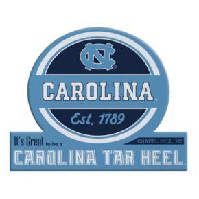 North Carolina Tar Heels Jumbo Tailgate Magnet