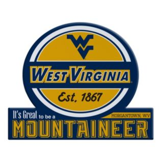 West Virginia Mountaineers Jumbo Tailgate Magnet