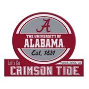 Alabama Crimson Tide Tailgate Peel & Stick Decal