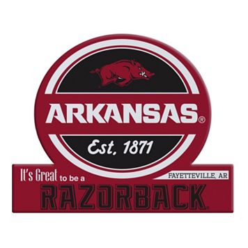 Arkansas Razorbacks Tailgate Peel & Stick Decal