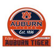 Auburn Tigers Tailgate Peel & Stick Decal
