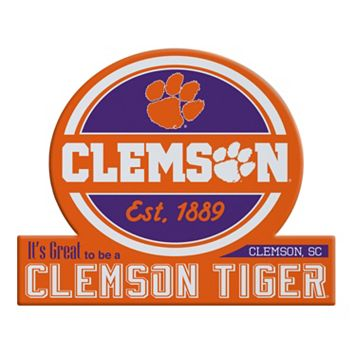 Clemson Tigers Tailgate Peel & Stick Decal
