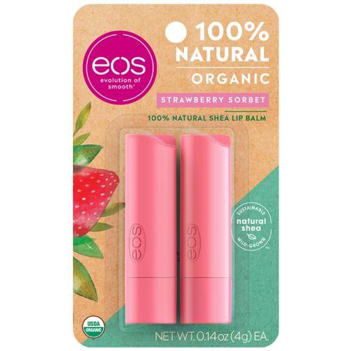 Eos 2 Pk. Strawberry Sorbet Lip Balm Smooth Stick Set by Kohl's