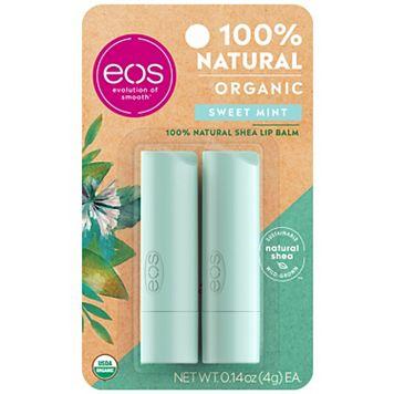 eos 2-pk. Sweet Mint Lip Balm Smooth Stick Set