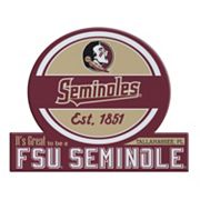Florida State Seminoles Tailgate Peel & Stick Decal