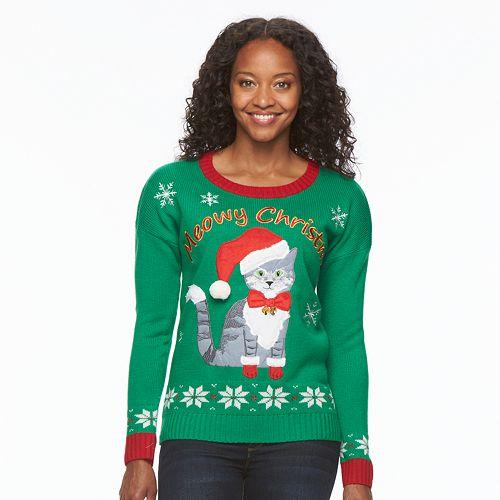 Women's Christmas Crewneck Sweater