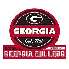 Georgia Bulldogs Tailgate Peel & Stick Decal