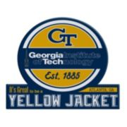 Georgia Tech Yellow Jackets Tailgate Peel & Stick Decal