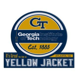Georgia Tech Yellow Jackets Tailgate Peel & Stick Decal