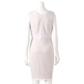 Women's Chaya Abstract Lace Sheath Dress