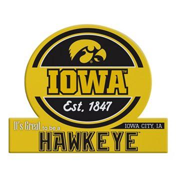 Iowa Hawkeyes Tailgate Peel & Stick Decal