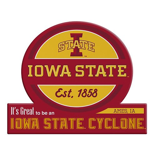 Iowa State Cyclones Tailgate Peel & Stick Decal