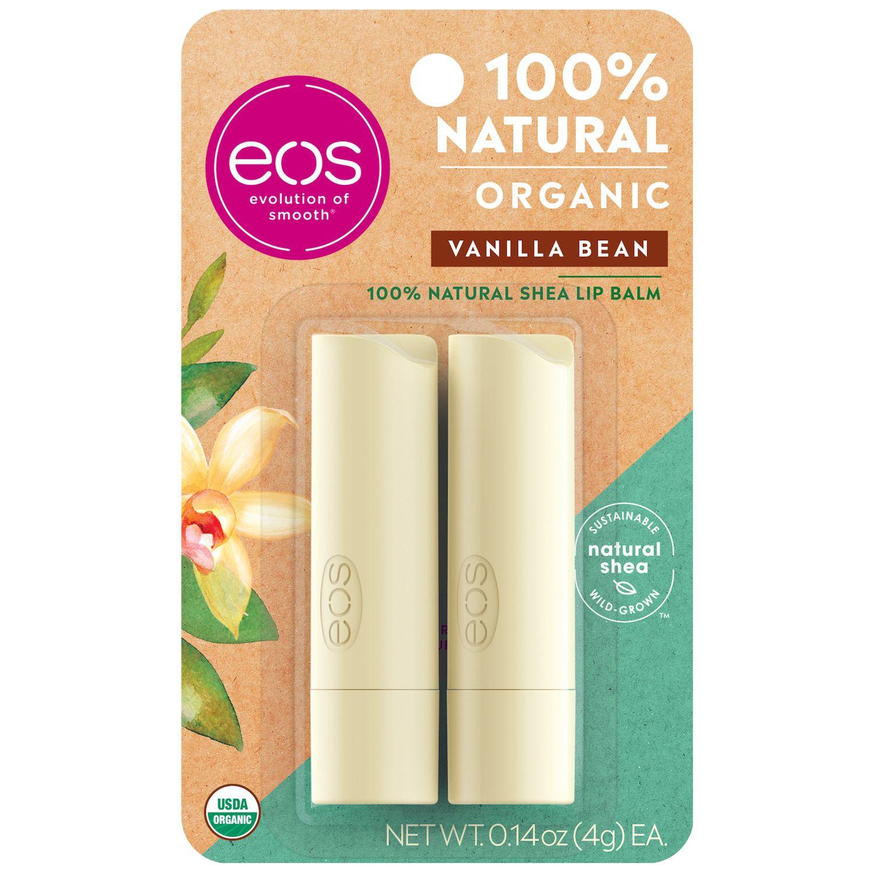 eos 2-pk. Sweet Mint Lip Balm Smooth Stick Set AKTA Moisturizer with Ceramides Pro Size 8 oz