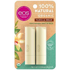 eos 2 pkVanilla Bean Lip Balm Smooth Stick Set