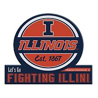 Illinois Fighting Illini Tailgate Peel & Stick Decal