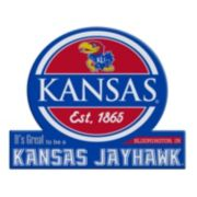 Kansas Jayhawks Tailgate Peel & Stick Decal