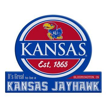 Kansas Jayhawks Tailgate Peel & Stick Decal