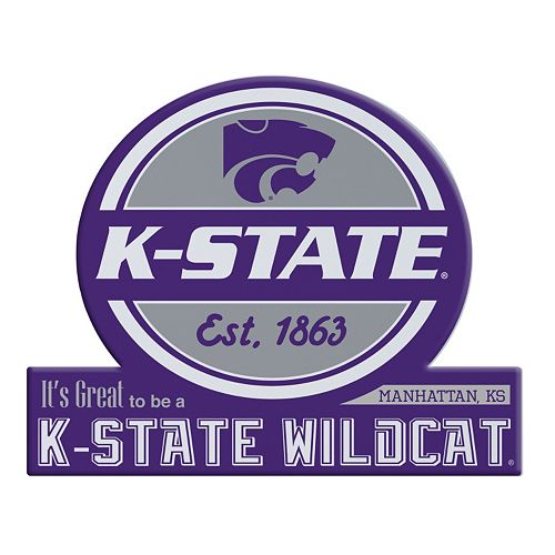 Kansas State Wildcats Tailgate Peel & Stick Decal