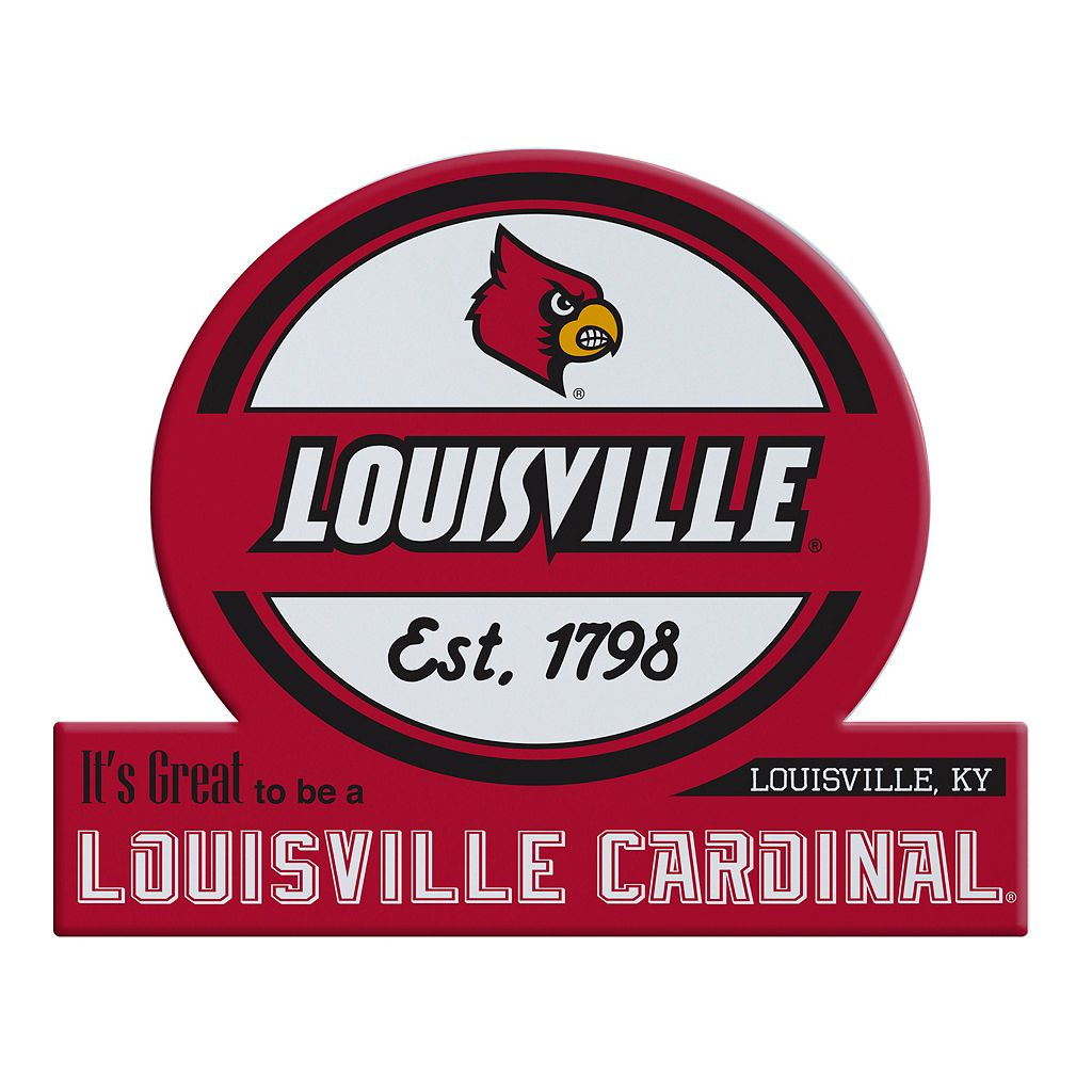 Louisville Cardinals Tailgate Peel & Stick Decal