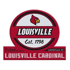 Louisville Cardinals Tailgate Peel & Stick Decal