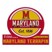 Maryland Terrapins Tailgate Peel & Stick Decal