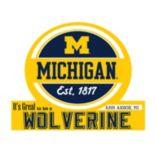 Michigan Wolverines Tailgate Peel & Stick Decal