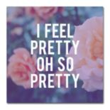 "Trademark Fine Art ""So Pretty"" Canvas Wall Art"