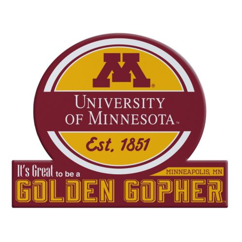 Minnesota Golden Gophers Tailgate Peel & Stick Decal