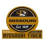 Missouri Tigers Tailgate Peel & Stick Decal
