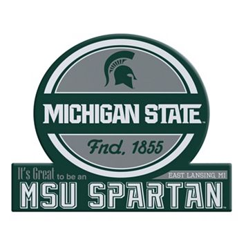 Michigan State Spartans Tailgate Peel & Stick Decal