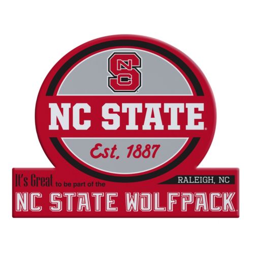 North Carolina State Wolfpack Tailgate Peel & Stick Decal