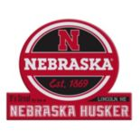 Nebraska Cornhuskers Tailgate Peel & Stick Decal