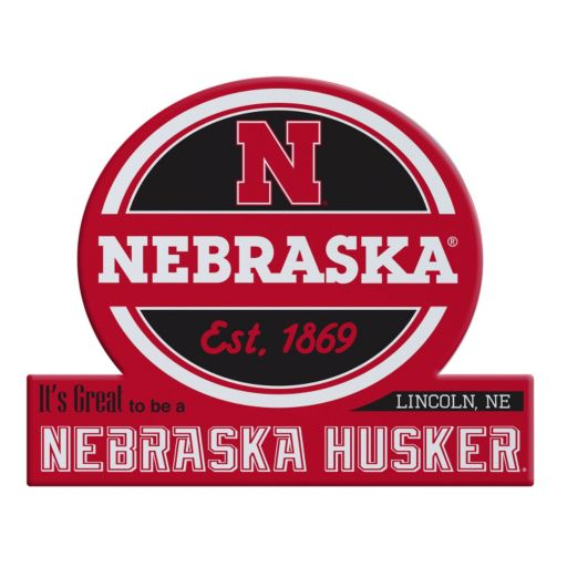 Nebraska Cornhuskers Tailgate Peel & Stick Decal