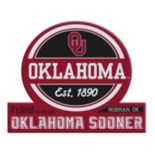 Oklahoma Sooners Tailgate Peel & Stick Decal