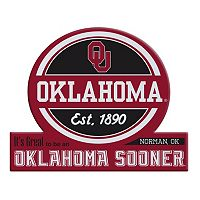 Oklahoma Sooners Tailgate Peel & Stick Decal