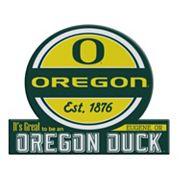 Oregon Ducks Tailgate Peel & Stick Decal