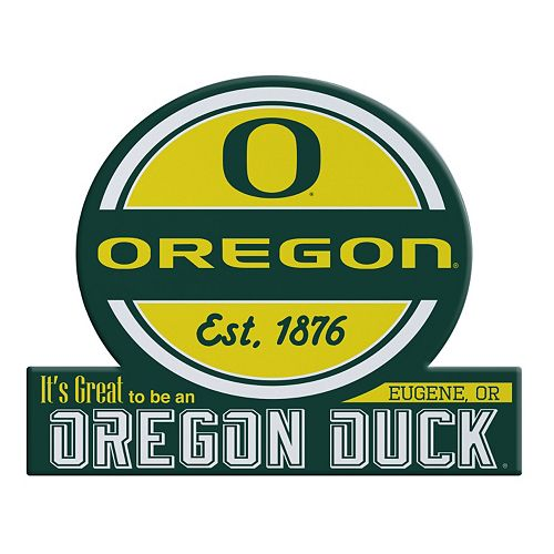 Oregon Ducks Tailgate Peel & Stick Decal