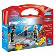 Playmobil Fire Rescue Carrying Case Playset  - 5651