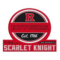 Rutgers Scarlet Knights Tailgate Peel & Stick Decal
