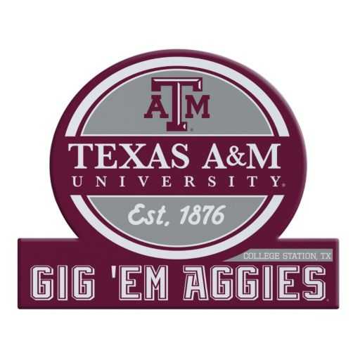 Texas A&M Aggies Tailgate Peel & Stick Decal