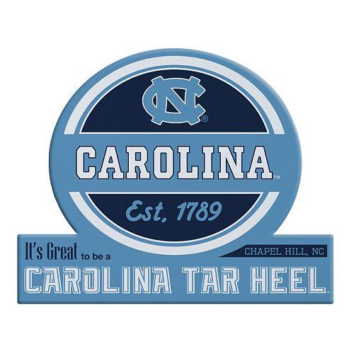 North Carolina Tar Heels Tailgate Peel & Stick Decal