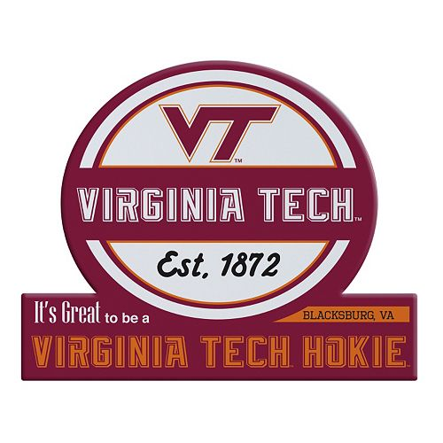 Virginia Tech Hokies Tailgate Peel & Stick Decal