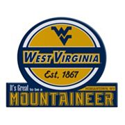 West Virginia Mountaineers Tailgate Peel & Stick Decal