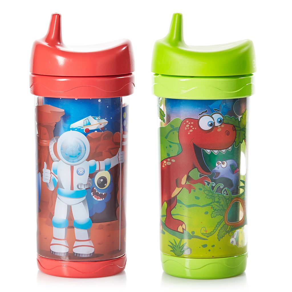 Evenflo Feeding Sip & Seek 2-pk. 10-Ounce Insulated Sippy Cups