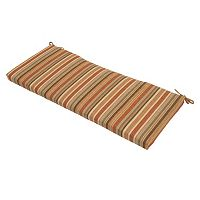 Cayenne Stripe Patio Bench Cushion