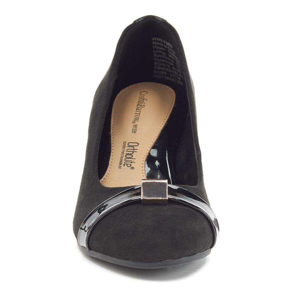 Croft & Barrow® Women's Ortholite Kitten Heels