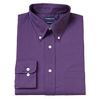 Big & Tall Croft & Barrow® Solid Button-Down Dress Shirt