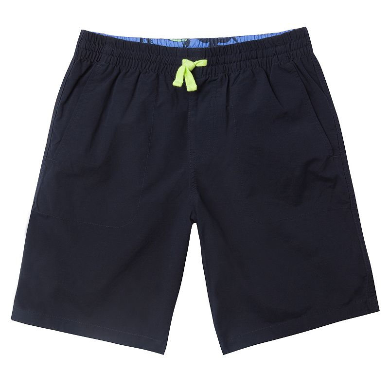 Boys 8-20 Chaps Flat-Front Pull-On Shorts