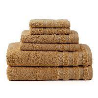Martex 6 pc Egyptian Cotton Towel Set